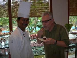 Genussjäger in Indien mit Ali Houssain Khan, Küchenchef Fisherman's Cove Nähe Chennai
